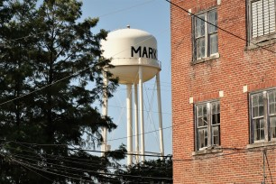 Marks water tower